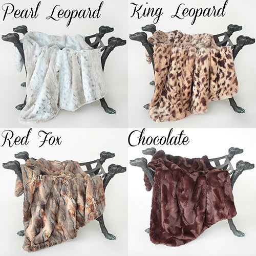 Luxe Collection Blankets - Bark Fifth Avenue