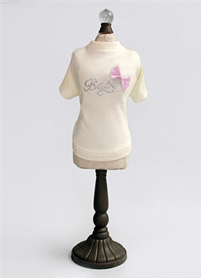 Baby Pink Bow Tee