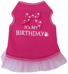 It's My Birthday Tank - Pink