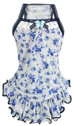 Blue Rose Dress - Bark Fifth Avenue