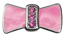 "Load image into Gallery viewer, 3/8"" Enamel Bow Charm - Bark Fifth Avenue"