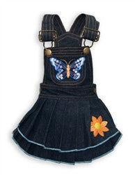 Butterfly Denim Dress