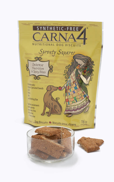 Carna4 Sprouty Squares Baked Snacks