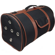 Load image into Gallery viewer, Airline Approved Fashion Cylindrical Pet Carrier - Bark Fifth Avenue