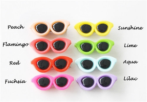 Assorted Sunglasses Barettes