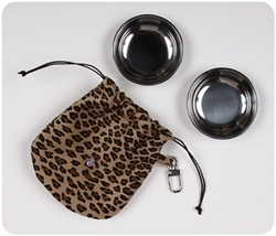 Travel Bowl and Pouch - Bark Fifth Avenue