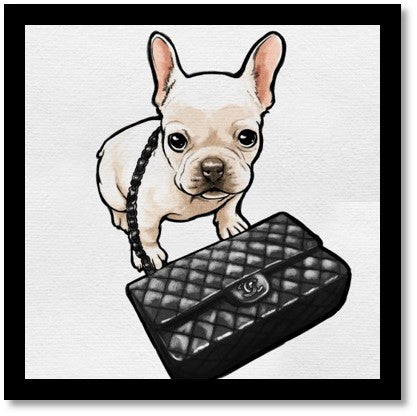 Classy Frenchie - Oliver Gal - Bark Fifth Avenue