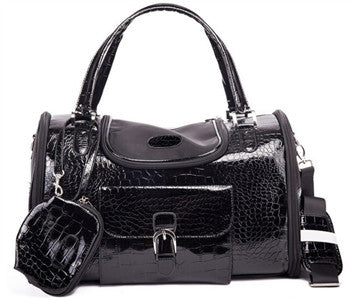 Croc Carrier Black - Bark Fifth Avenue