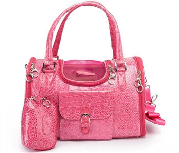 Croc Carrier Pink - Bark Fifth Avenue