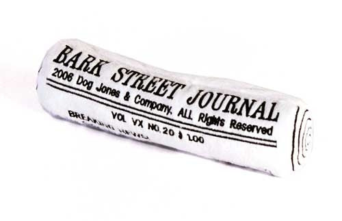 Bark Street Journal Toy - Bark Fifth Avenue