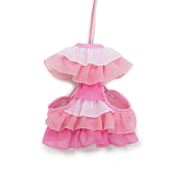 Pink Ruffle Harness - Bark Fifth Avenue