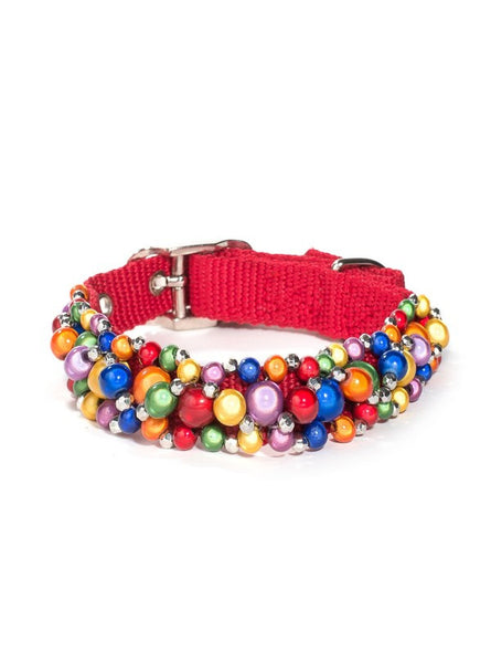 Fabuleash Beaded Dog Collar