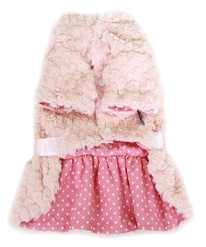 Fur Dress Pink - Bark Fifth Avenue