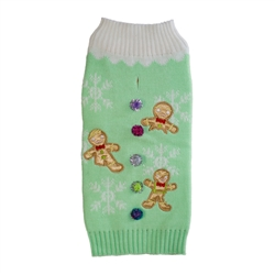Gingerbread Men Holiday Sweater