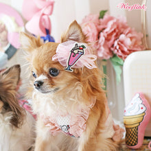 Load image into Gallery viewer, MILKSHAKE & ICE CREAM HAIRBOW - Bark Fifth Avenue