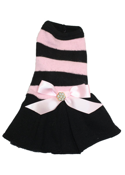 Pink Stripe Coco Dress - Bark Fifth Avenue