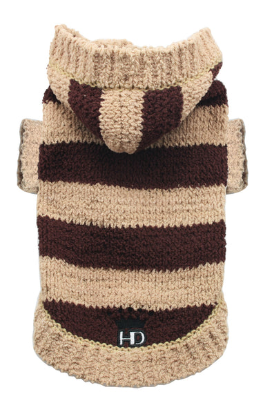 Super Soft Stripe Sweater - Bark Fifth Avenue