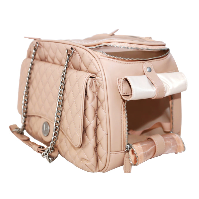 VANDERPUMP CLASSIC QUILTED LUXURY PET CARRIER