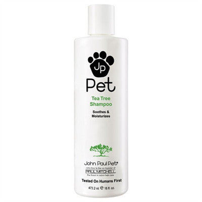 John Paul Pet Products Tea Tree Shampoo - 16 oz. - Bark Fifth Avenue