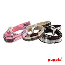 Load image into Gallery viewer, Puppia Junior Harness & Matching Lead - Bark Fifth Avenue