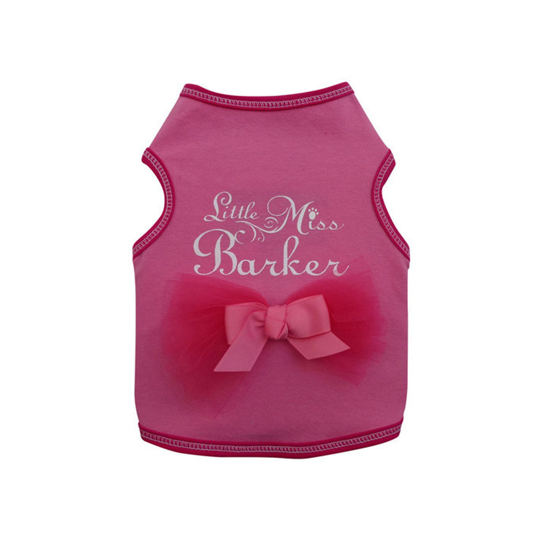 Little Miss Barker Tank - Bark Fifth Avenue