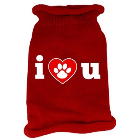 I Love You Knit Sweater