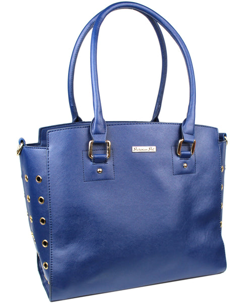 Blue Santorini Carrier - Bark Fifth Avenue