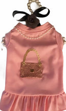Load image into Gallery viewer, Glam Holiday Sparkle CC Purse Dress