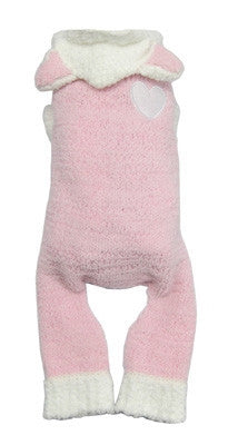 Super Soft Pink Bunny Suit