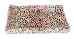 Pink Leopard Crate Liner - Bark Fifth Avenue