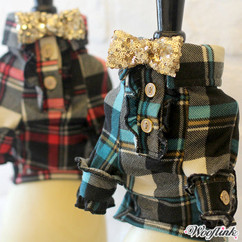 Rustic Plaid Shirts - Bark Fifth Avenue