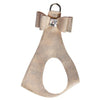 Platinum Glitzerati Big Bow Step in Harness - Bark Fifth Avenue