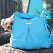 Load image into Gallery viewer, Sea Glass Mia Michele Dog Carry Bag - Bark Fifth Avenue