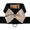 Tinkie Harness with Platinum Glitzerati Nouveau Bow - Bark Fifth Avenue