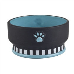 Woofington Teal Pet Bowl