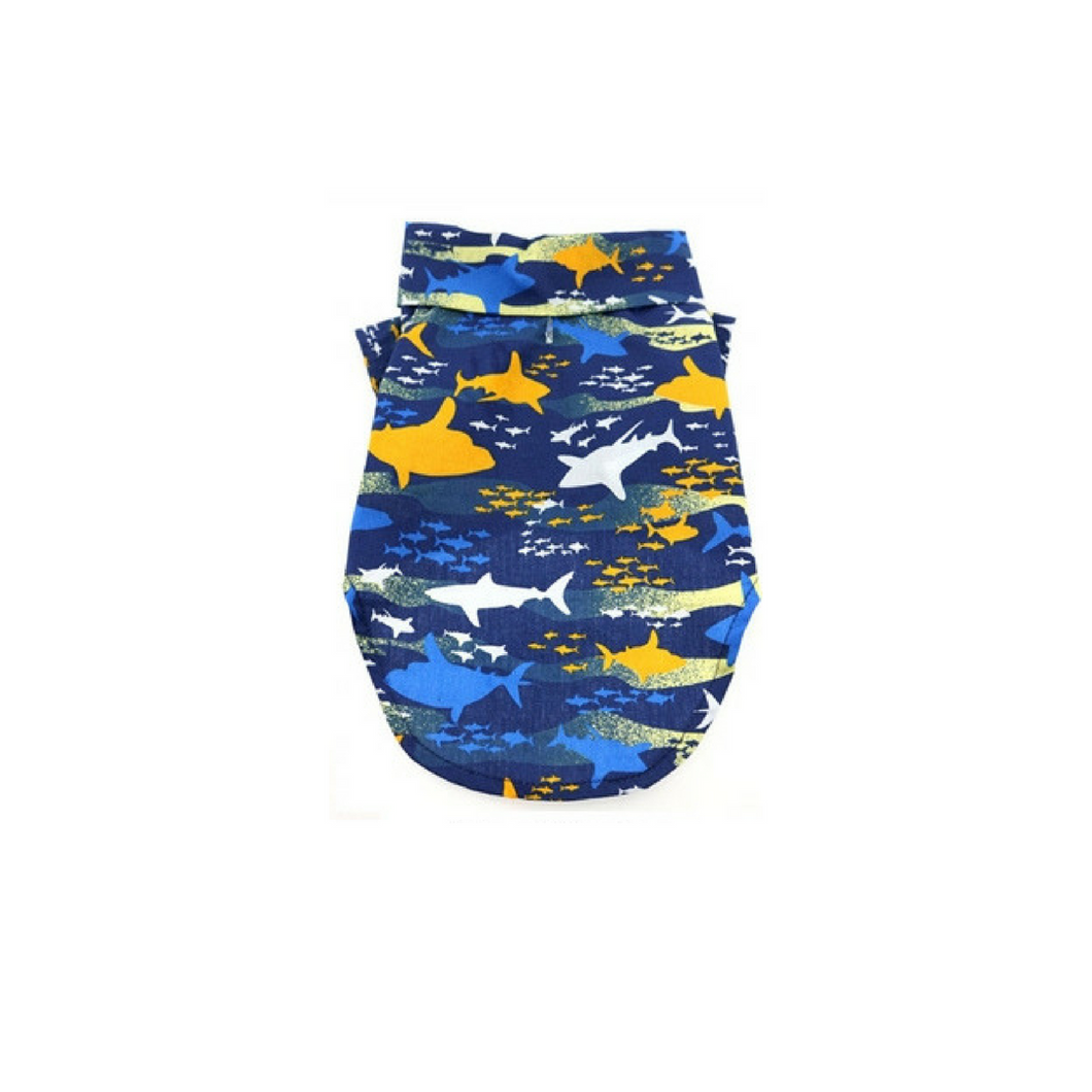 Island Sharks– 100% Cotton - Bark Fifth Avenue