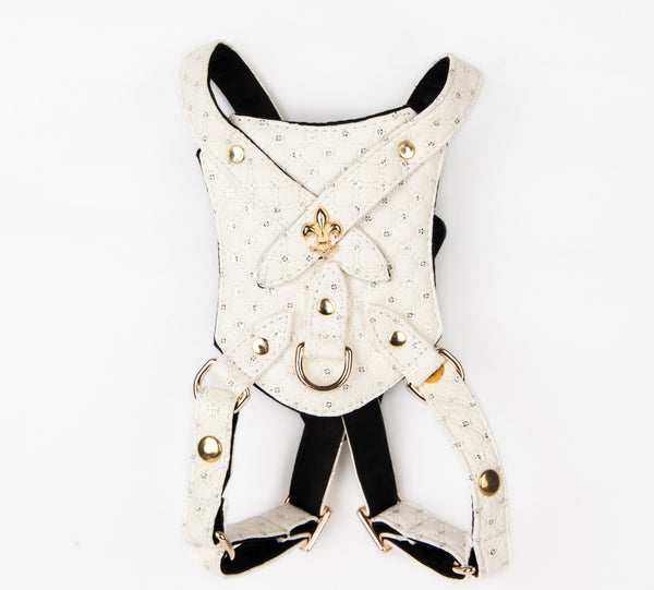Sparkle Quilt Harness - Bark Fifth Avenue