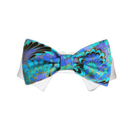 Amadeus Bow Tie Collar - Bark Fifth Avenue