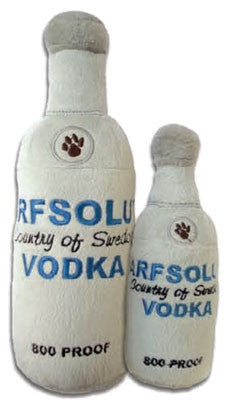 Arfsolut Vodka Plush Toy - Bark Fifth Avenue