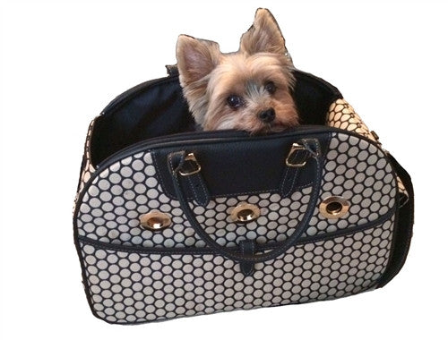 Ariel Bag - Noir Dots - Bark Fifth Avenue