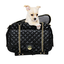 Load image into Gallery viewer, VANDERPUMP CLASSIC QUILTED LUXURY PET CARRIER