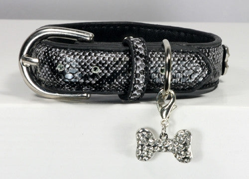 Chrystal Bone Charm Collar
