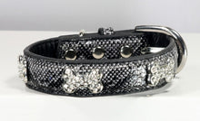 Load image into Gallery viewer, Chrystal Bone Charm Collar - Bark Fifth Avenue