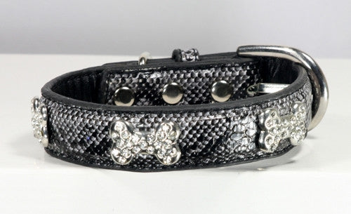 Chrystal Bone Charm Collar - Bark Fifth Avenue