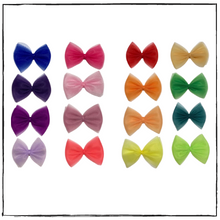 Load image into Gallery viewer, CC Lock Tulle Hair Bows
