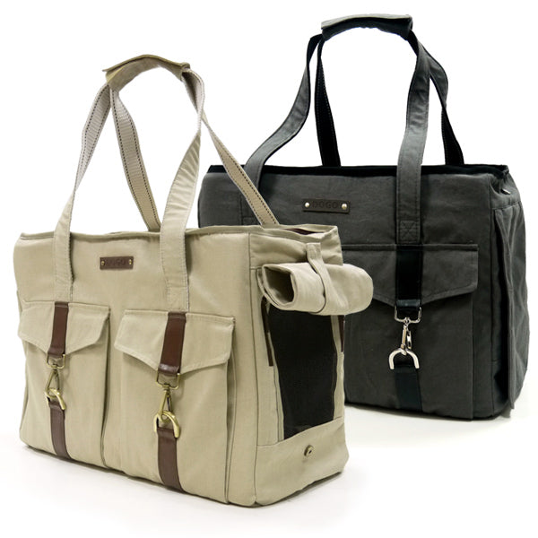 Buckle Tote V2 Carrier - Bark Fifth Avenue