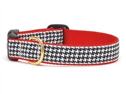 Classic Black Houndstooth Collar - Bark Fifth Avenue