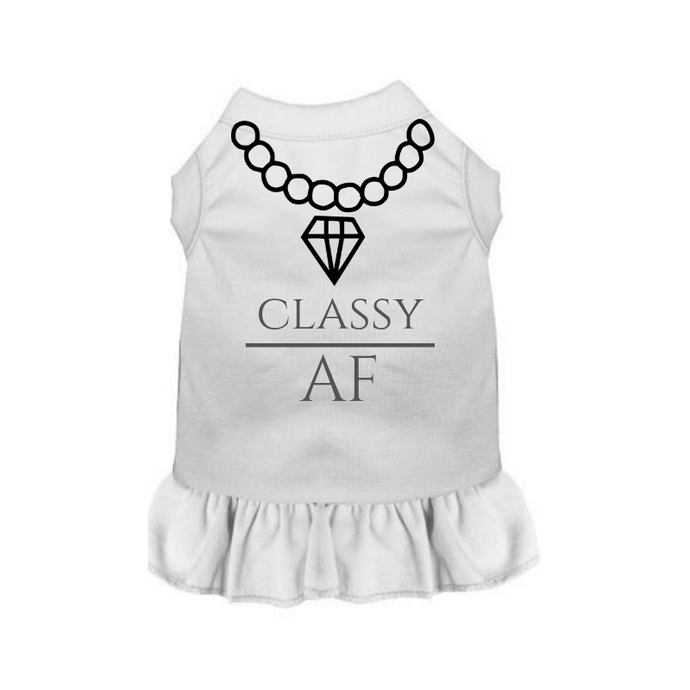 Classy AF Dress - Bark Fifth Avenue
