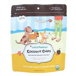CocoTherapy Organic Coconut Chips 6oz
