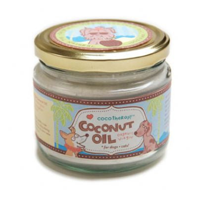 CocoTherapy Coconut Oil - 8oz Glass Jar - Bark Fifth Avenue